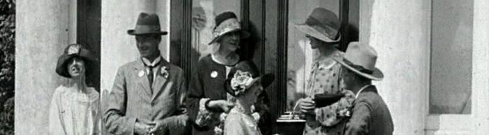 [Garden Fete at Broughton House] (1926)