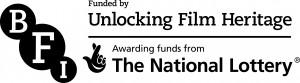 BFI Unlocking Film Heritage logo