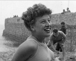 [Brighton Swimming Club: Beach Snapshots part 1] (ca.1946)