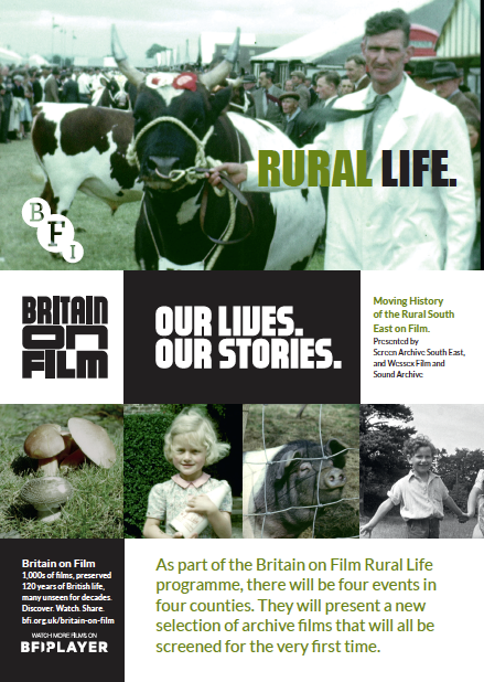 Britain on Film Rural Life flier front