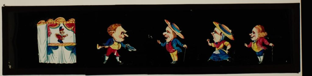 Hecht collection; unknown maker; panoramic slide