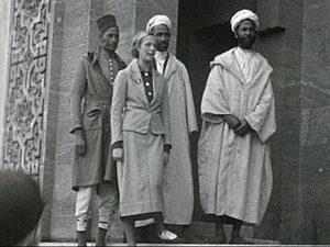 Title: [Christmas Cruise - Trip to Africa] Date: (ca.1935) Film-maker: Joseph Emberton