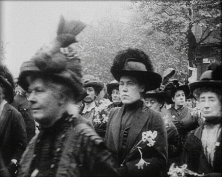 The Funeral Procession of the Woman Who Dared (1913)