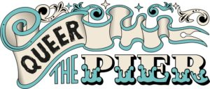 Queer the Pier project logo