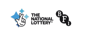 The National Lottery logo and BFI Logos together in one image
