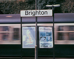 A still from [Open Days at Brighton Station] (1974 & 1983)