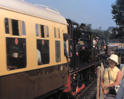 A still from [Tenterden and Rolvenden Stations] (ca.1980)