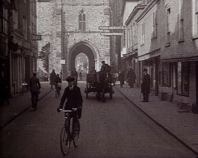 A still from [The Canterbury Tour] (ca.1923)