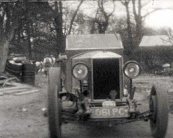 [Works at Fairmile Garage in Cobham] [1927?]