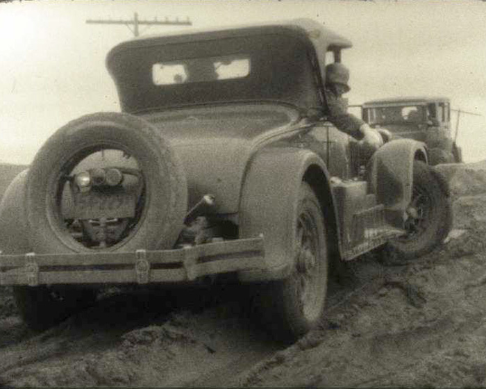 A still from [Violette Cordery Motoring World Tour] (1927)