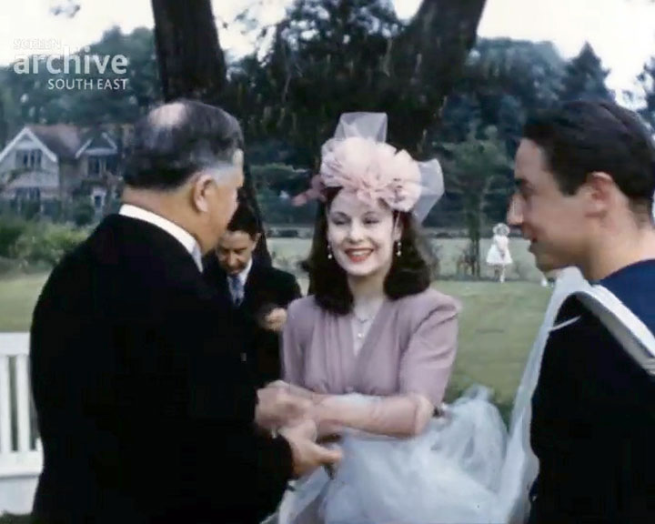 A Still from [Mia Macklin's Wedding] (1940)