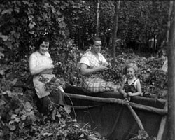 A still from 'In the Hop Fields of Kent' (ca.1937)