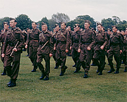 A still from [Air Training Corps; Empire Day; Cricket; Memorial Days] (1941-1943)