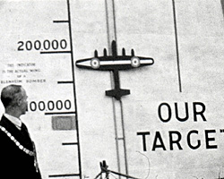 A still from [Marches; Target Reached] (ca.1944)