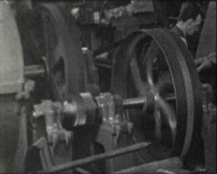 A still from 'Rearmaments' (1937) - machinery