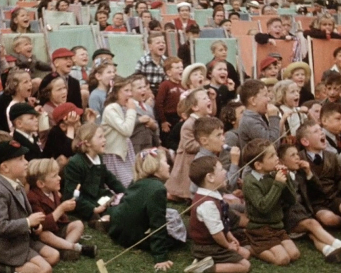 A still from The Herne Bay Newsreel - 1953 Coronation Year