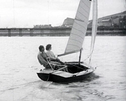 A still from 'Kent Yachting Week 1954'