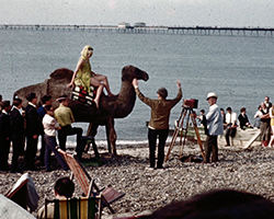 A still from Herne Bay Newsreel 1963