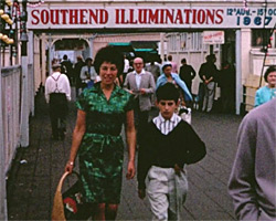 A still from [Family trip to Southend - Golden Hind and seaside] (1967)
