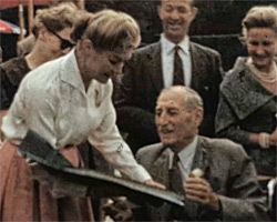 A still from [Guinea Pig Club Reunions 1960 to 1962]
