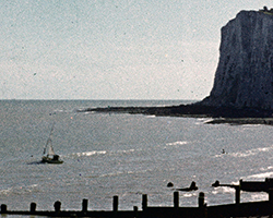 A still from Holiday at Sandgate (1946)
