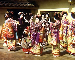 A still from 'Visits to Japan, China and Egypt' (1949-1953)