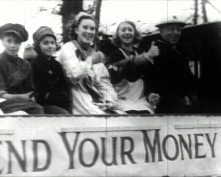 A still from 'Walton's Parade for Victory' (1941)