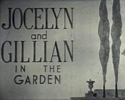 A Still from [Jocelyn and Gillian in the garden] (1936-1938?)