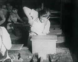 A still from 'The Southern Railway Servants' Orphanage at Woking' (1928-1933?)