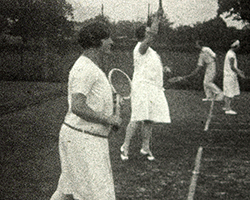 A still from Crawley & District Bowling and Lawn Tennis Club (1927-1928)