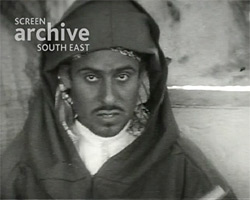 A still from 'Aerial Views and Local Scenes of Marrakech' (1927)
