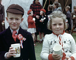 a still from [Coronation Celebrations in Burgess Hill] (1953)