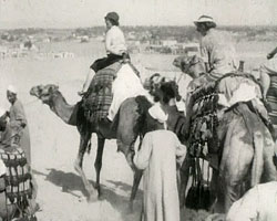 A still from [Flavell Family. Travels to India and Egypt] (1933-1935)