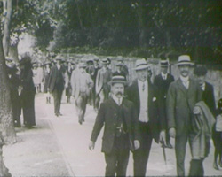 A still from Horsham Cricket Week and Grand Carnival (1913)