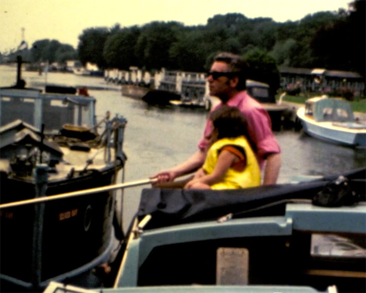 A still from Boat trip along the River Thames (1970s)