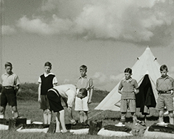 A still from [Boys' Brigade Camp at Camber Sands] (1938)