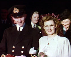 A still from [Weddings, Christening and Seaside Pictures] (1940s)