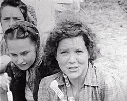 A still from Brighton International Children's Camp (1946) showing children at the camp