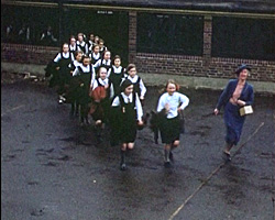 A still from [Air Raid Practice - Knoll School Hove] (ca.1940)