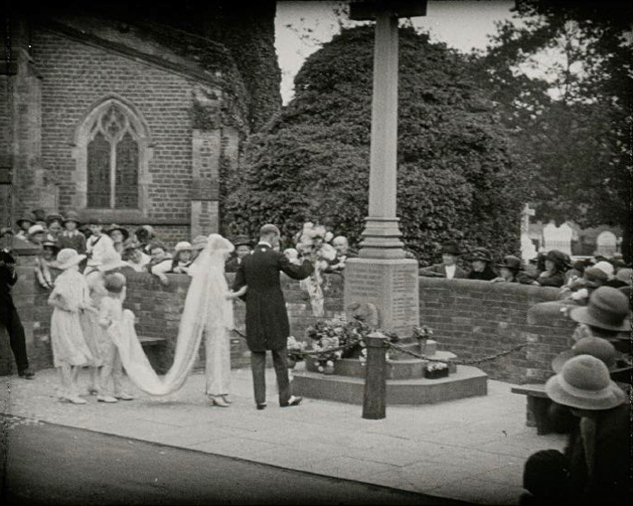 The Young Squire's Wedding at Warnham Court (1923)