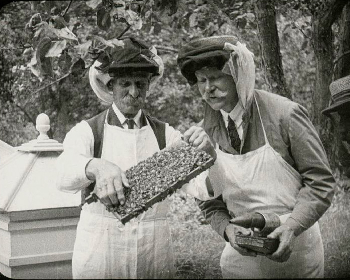 A still from 'Warnham Court; The Home of C. J. Lucas' (ca.1920)
