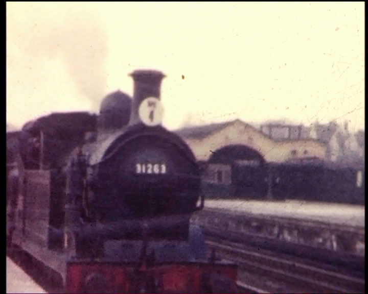 A still image from �[Oxted Lines; KV Tour; Bowaters Railway; Hayling Island Branch]� (1961-1962)
