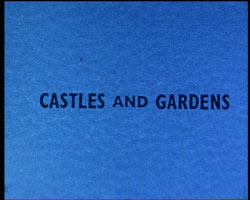 A still image from �[Copper's Tours; Castles and Gardens]� (1962-1963)