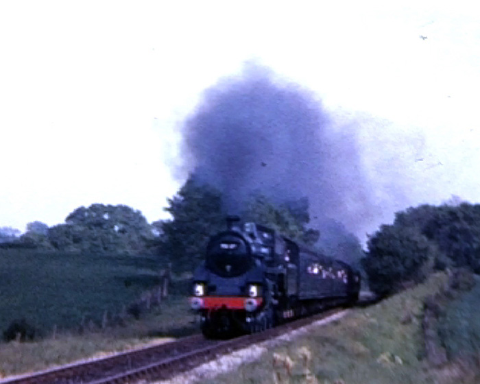 a still from '488 Was Here'; [Bluebell Railway in the 1970s] (1972)