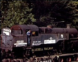 a still from [Bluebell Railway Through the Years] (1970; 1980-1990)