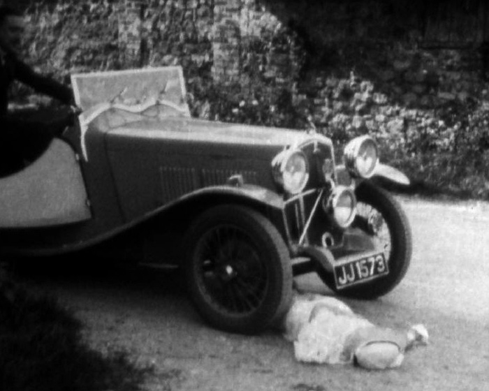 A still from 'What a Hunt' (1930s)