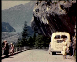 A still from 'Our Swiss Holiday' [1954]