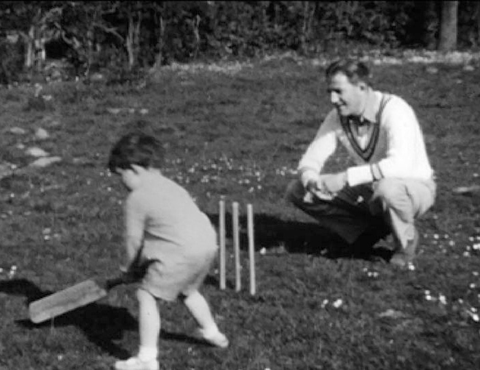 A still from [Toddler and Family; Garden Scenes; Beach Holiday] (1934-1935)
