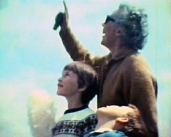 A still from [Rough sea, Ardingley shows and Lancing seaside and fete] (1969; 1970; 1971)