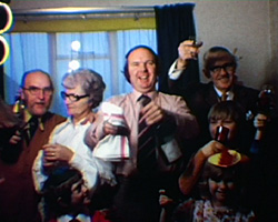 A Still from Family Christmas gathering (c.1973)